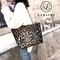 LARAINE Leopard pattern tote bag PU Leather shoulder bag Handbags for Ladies Leopard Print 40cm by 12cm by 26cm