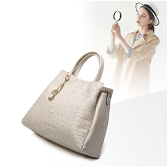 LARAINE 2Pcs/Sets  PU Leather  Handbags For Ladies Beige one size