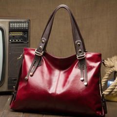 LARAINE Large Capacity and High Quality Handbags for Ladies red one size
