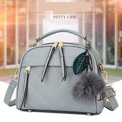 LARAINE Fashion Handbags for Ladies PU Leather High Quality Handbags upgrade gray one size