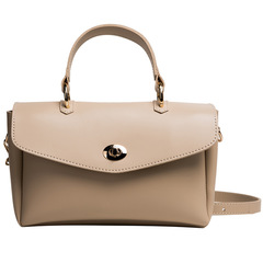 LARAINE Brand PU Leather Handbags for Ladies khaki one size