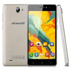 5.0'' VKWORLD VK700X Android 5.1 Quad Core 1.3GHz Smartphone EU Gold