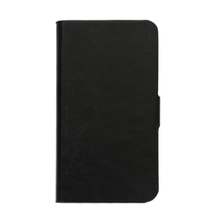 Cubot X12 Folio Leather Case Flip Cover Black/White/Red Black One Size