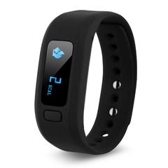 Excelvan moving up2 Smart Healthy Bracelet Bluetooth V4.0 Wristband Black