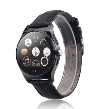 RWATCH R11 Smart Watch Infrared Remote Controller Heart Rate Calls Black