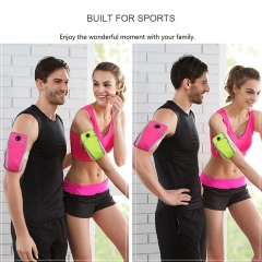 Universal Sport Gym Armband Wrist Bag Pouch Case Green One Size One Size