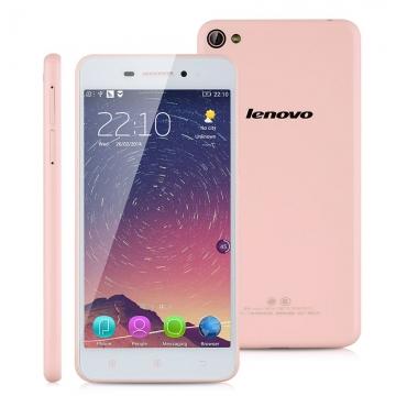 Lenovo S60-w, 5.0'',  Android 4.4, Quad Cores, RAM 2GB + 8GB ROM SmartPhone Pink