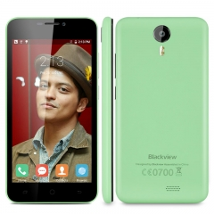 Blackview BV2000S 5.0 inch Android 5.1 MTK6580 Quad-core 1.3GHZ RAM 1GB+ROM 8GB Smartphone Green
