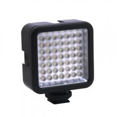 Mini 49 LED Video Light for Canon / Nikon DSLR Camera Camcorder DVR DV black