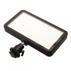 228 LED Video Light Lamp Panel Dimmable 20W 2000LM for DSLR Camera DV Camcorder black