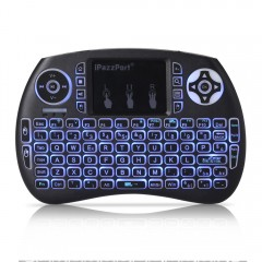 iPazzPort 21S Wireless Mini Keyboard Backlight Function with Touchpad as the picture one size