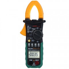 MS2108A Digital Clamp Multimeter Auto Range DC / AC Volt AC Current Resistance Capacitance Frequency Test as the picture one size