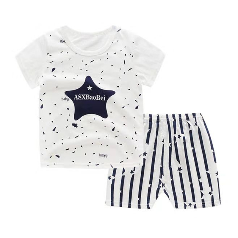 d78e855d0aa4 Promotion Clearance Kids Boy Toddler Shirt Top+Shorts Overalls Set Outfit  2Pcs DZ001A 55(80cm)  Product No  7577063. Item specifics  Brand