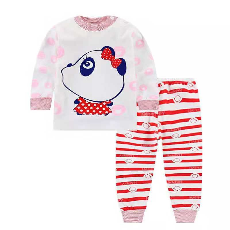 5cbe24b3df7 D-baby Promotion Clearance Boys Girls Clothes Sets T-shirt+ Pants ...