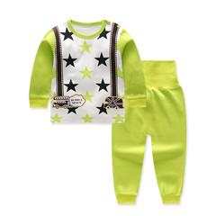 D-baby Children's clothing Kids Star Cotton blend T-shirt Tops Harem Pants Outfits Set Clothes YK002A 73(0-6M)