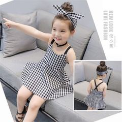 D-baby Girl dress Wedding Party Birthday Formal Dresses Kids Clothing SP001A 100cm