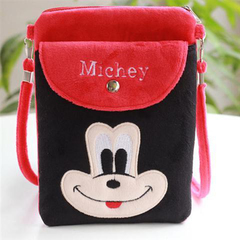 D-baby Children's handbag girl's crossbody princess's bag cute hand girl's one-shoulder bag DB002B 13*18*1cm