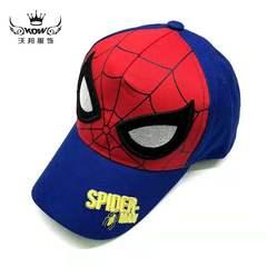 D-baby Spider-Man Super-Man 4-13Y children's net hat summer new cartoon children's sunshade hat YW002A