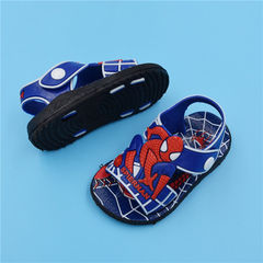 D-baby Summer Infants boys and girls Spider-Man beach shoes kids sport sandals XZ001A 11.5cm
