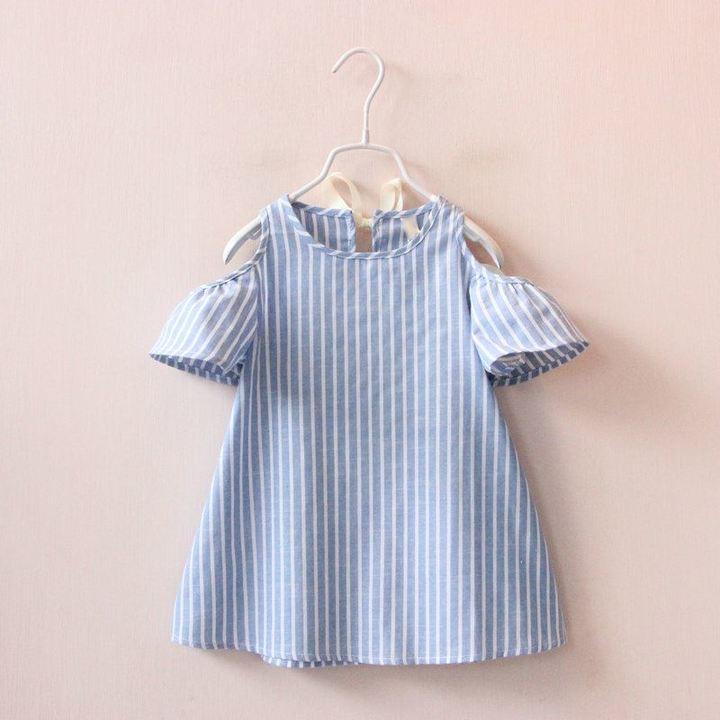 D-baby Kid Baby Girl Apple Print Dress Cute Sleeveless Sling Dress For Girl Children Clothes MM009A 120(110-120cm)