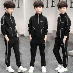 D-baby 5-9.5y Gentlemen Boys Leisure Sports Suit, Collar Top + Trousers Fashion Suit FS004B 120cm