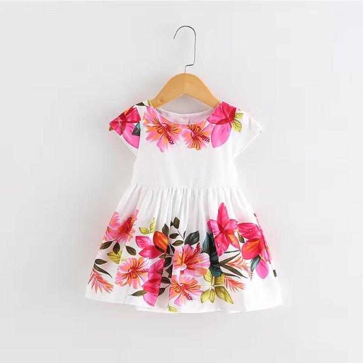 D-baby Fashion Kids Clothing Girl Dress Vest Princess Dresses A 100(90cm)
