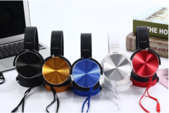 Headset Wired Microphone Headset Stereo Cell Phone Universal Game Headset