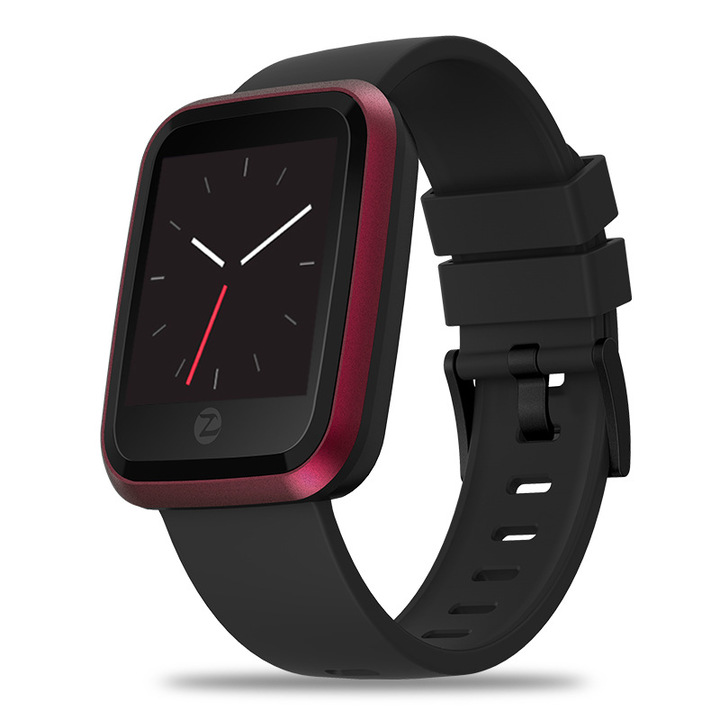 Zeblaze Crystal 2 smart watch IP67 Waterproof HD color display red one size