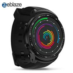Zeblaze THOR PRO 1.53 inches 1+16GB GPS Global positioning smart watch black one size