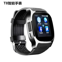 new smart watch Sports step watch Card camera bluetooth phone watch black one size