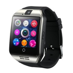 Q18 smart bluetooth watch sedentary reminder sports card watch sleep monitoring black one size