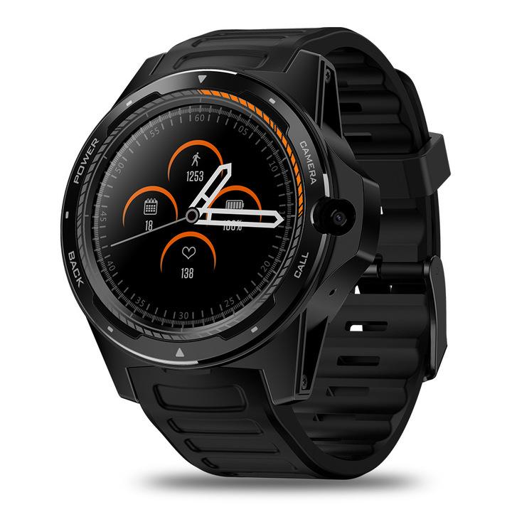 Zeblaze THOR 5 dual system dual chip smart watch bracelet long standby 8 million pixels 2+16g black one size