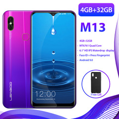 Leagoo M13 6.1寸 4+32GB 3000mAh  quad-core smartphone purple