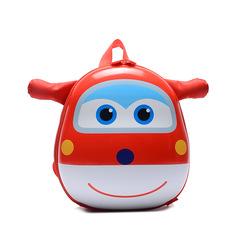 MIBO New Super Swordsman Kindergarten Children's Backpack Little Girl Boy Baby Eggshell Shoulder Bag red
