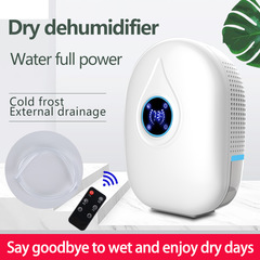 MIBO Remote Control Mini Humidifier Household Absorber blue