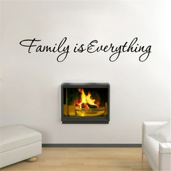 MIBO Family Is Everything English Lecture Hall Wall Sticker
