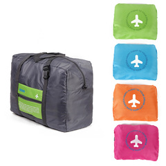 MIBO Large Capacity Folding Travel Storage Bag Portable Waterproof Luggage green one size
