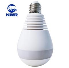 NWR 360° Panoramic Hidden Wireless Wifi Camera Light Bulb Home Security IP CAM Lamp CCTV Camera 960P