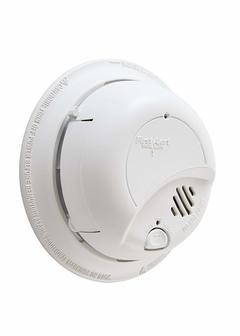BRK 9120B Hardwired Smoke Alarm with Battery Backup white one size