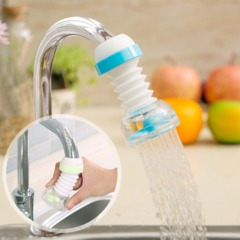 Kitchen faucet splash head extension extension filter can rotate faucet shower water saver