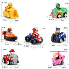 Boys and Girls Toy Paw Patrol Kids Christmas Gift 7pcs set High Quality