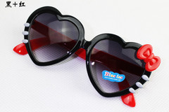 Kid's Sunglasses 3-12 years Heart Design Fashion anti-radiation Baby Christmas Birthday Gift pic1 normal