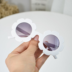 Kid's Sunglasses 3-12 years Flower Design Fashion anti-radiation Baby Christmas Birthday Gift pic1 normal
