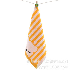 Children cotton hand towel washcloth home furnishing house accommodation soft  quality daily soft 1 35*35cm
