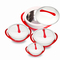 Sundabests 4pcs High Quality Hot Pot Serving Bowls(8041) random 4 pcs