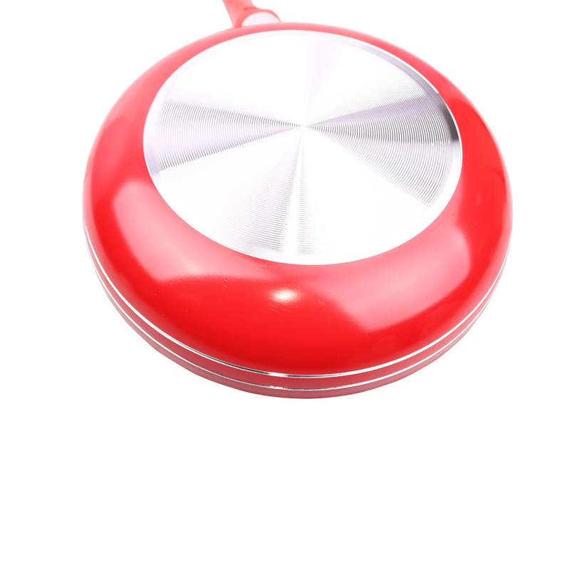 Sundabests Non-Stick Triple Coating Frying Pan(SD-24/26) red 22cm 8