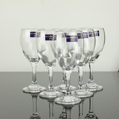 Sundabests 6pcs High Quality  Red Wine Glass as the picture 6pcs