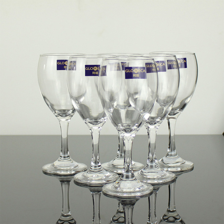 Sundabests 6pcs High Quality  Red Wine Glass(7486) as the picture 6pcs