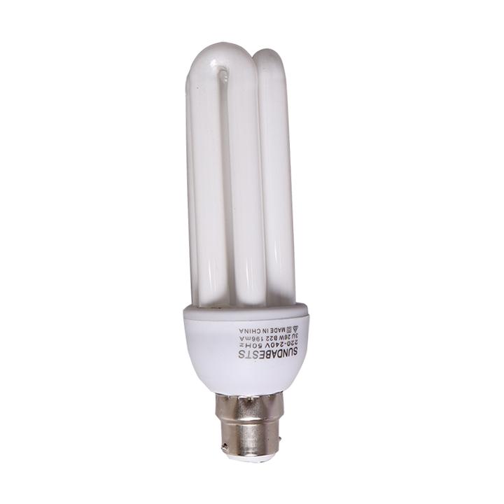 Sundabests 1pcs  High Quality 3U Energy Saver Bulbs Lighting(130007502) white 15cm 26W