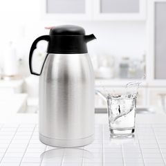 UNBREAKABLE Stainless Steel Vacuum Bottle 2.5L(11271) silver 2.5L